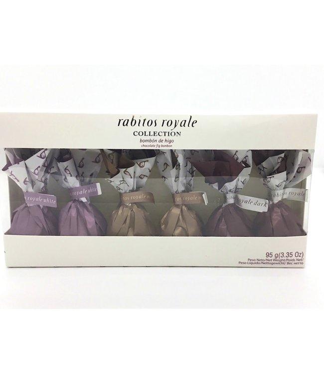 Rabitos Royale Collection  bombòn de higo 6 pack