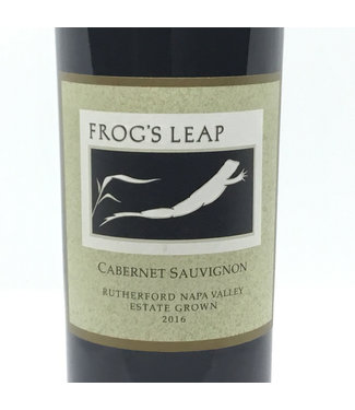 """Frog's Leap """"Rutherford """" Cabernet Sauv '16 Frog's Leap """"Rutherford """" Cabernet Sauv '16"""
