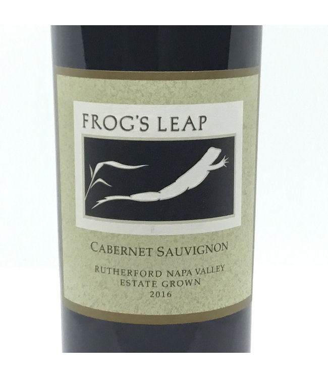 """Frog's Leap """"Rutherford """" Cabernet Sauv '16"""