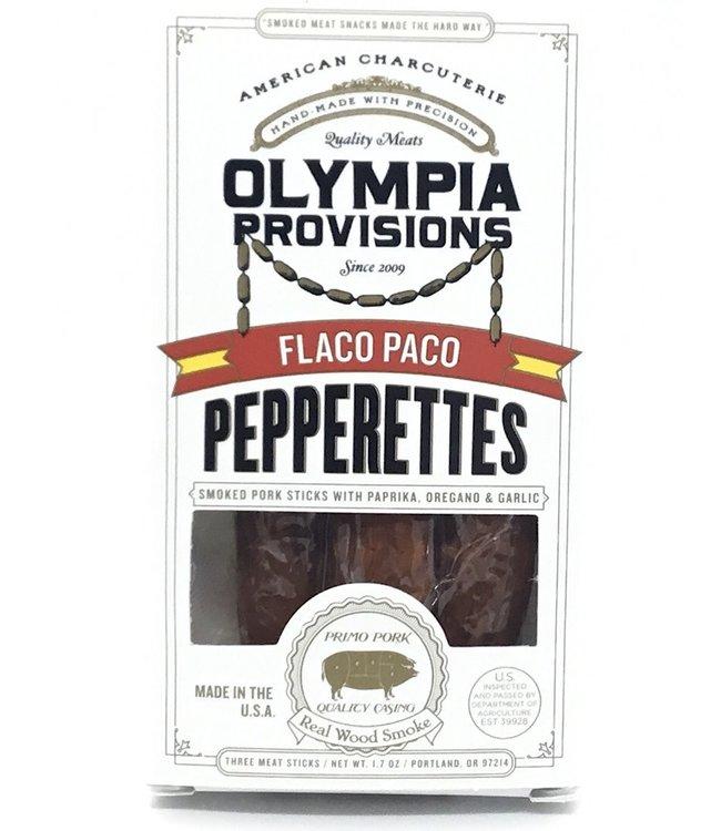 "Olympia Provisions Pepperettes ""Flaco Paco"" Paprika-Oregano-Garlic"