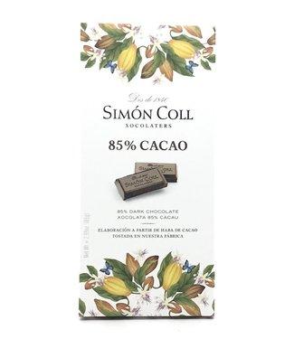 Simon Coll 85% Dark Chocolate  Bar 2.99 oz Simon Coll 85% Dark Chocolate  Bar 2.99 oz