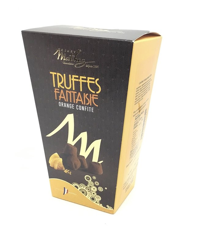 Mathez Orange Truffle Box  8.8oz