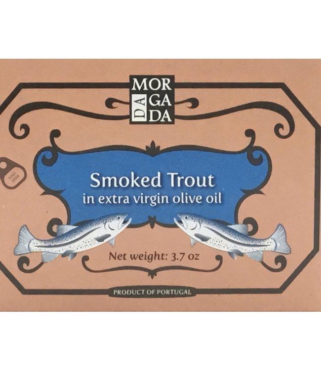 Da Morgada Smoked Trout In EVOO 3.7 oz Portugal
