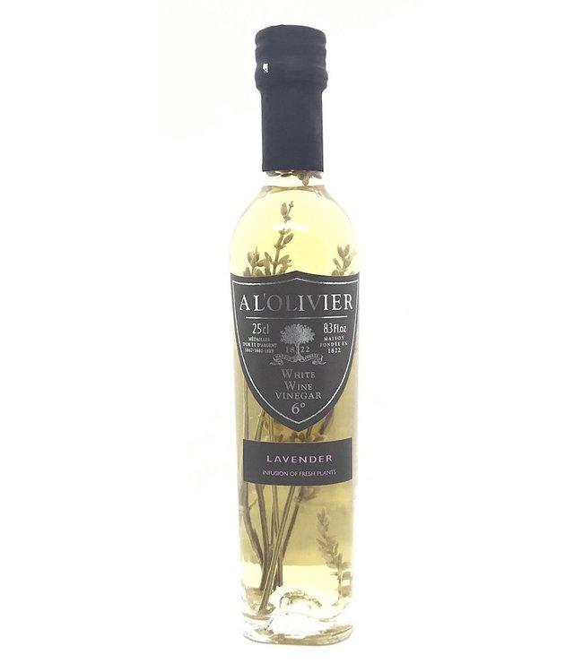 A L'olivier Lavendar White Wine Vinegar 8.3 oz