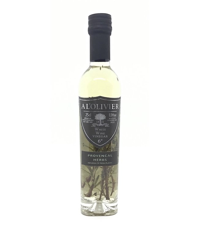 A L'olivier Provencal Herbs  White Wine Vinegar 8.3 oz