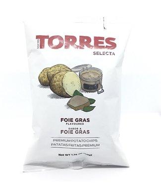 Torres Black Foie Gras Chips Spain Torres  Foie Gras Chips Spain