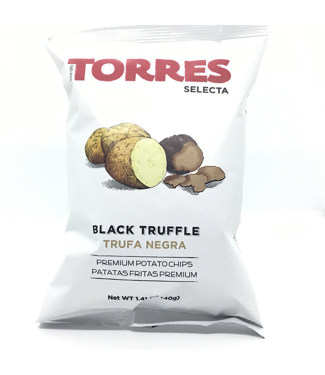Torres Black Truffle Potato Chips Spain