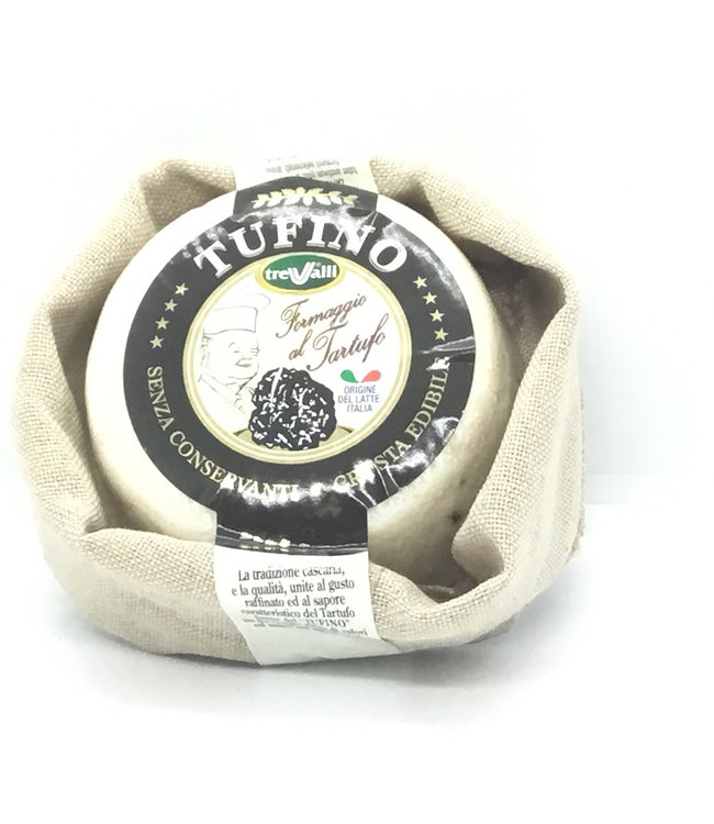 Tufino Cow & Sheep with Black Truffle Cheese Italy