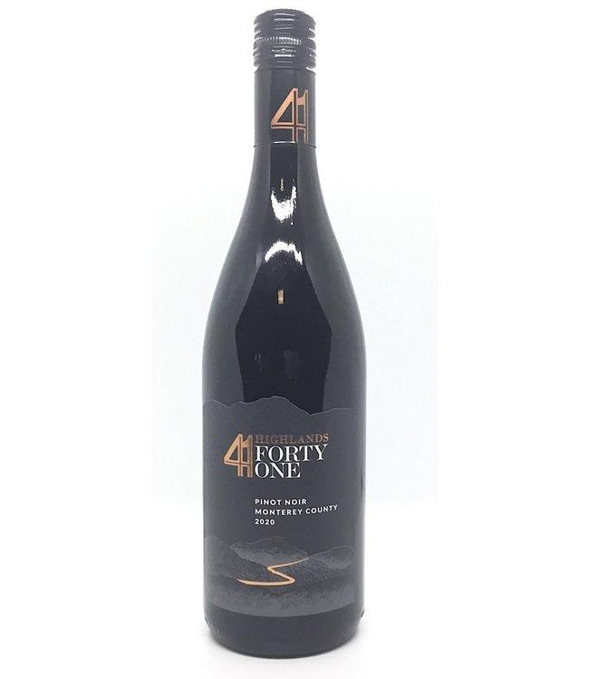 Highlands 41 Pinot Noir  2020