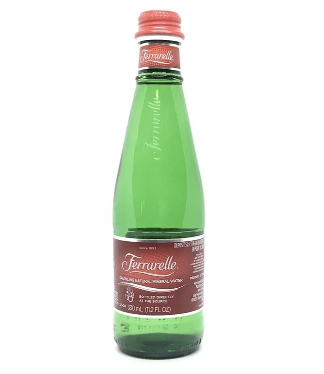 Ferrarelle Natural Mineral Water Italy 330 ml