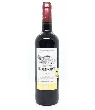 Chateau Romfort Blaye '15 Bordeaux Château Romfort 2015 Blaye-Bordeaux