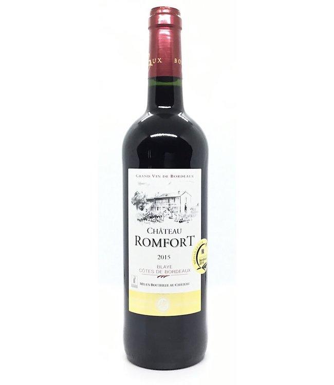 Château Romfort 2015 Blaye-Bordeaux