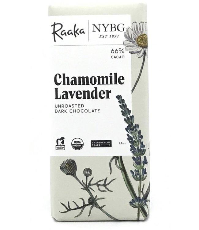 Raaka Chocolate Chamomile Lavender Bar 68% Limited Batch 1.8 oz