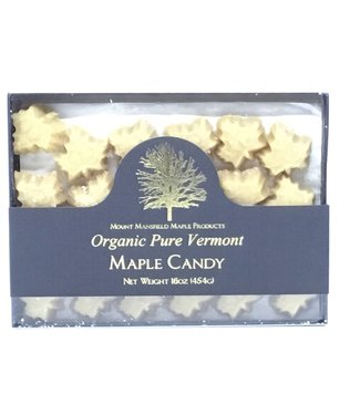 """Mount Mansfield Maple Candy """"Organic Pure Vermont""""  16oz Mount Mansfield Maple Candy """"Organic Pure Vermont""""  16oz"""