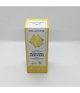 Paul & Pippa Parmesan Crackers Vegetarian 4.6 oz Paul & Pippa Parmesan Crackers Vegetarian 4.6 oz