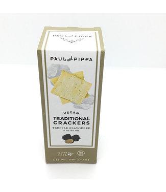 Paul & Pippa Truffle Crackers Vegan 4.6 oz Paul & Pippa Truffle Crackers Vegan 4.6 oz