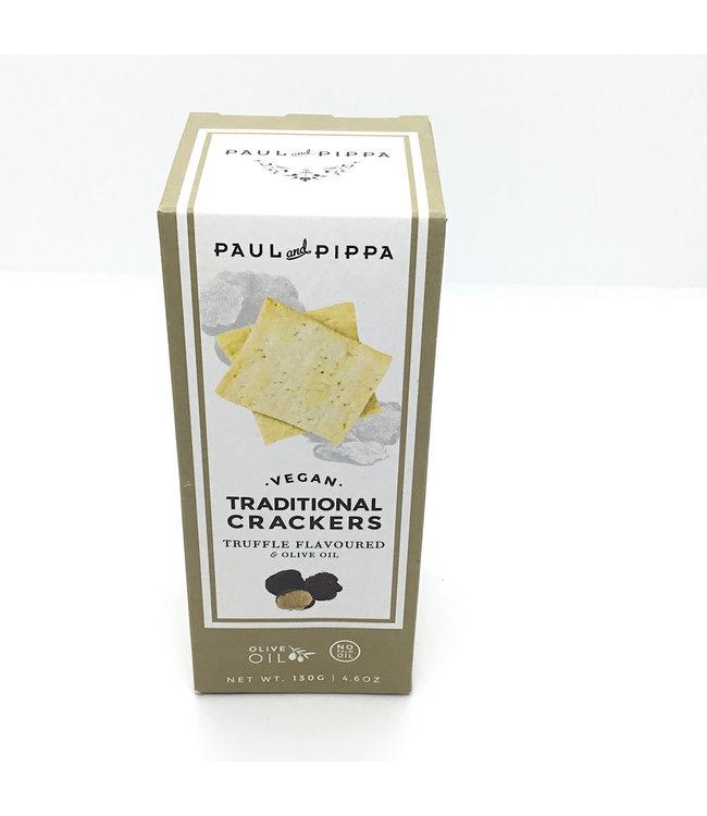 Paul & Pippa Truffle Crackers Vegan 4.6 oz