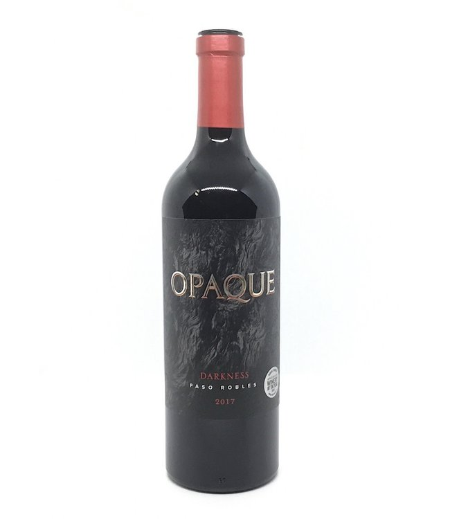 """Opaque  """"Darkness"""" 2017 Paso Robles"""