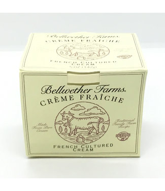 Bellwether Farms Crème Fraiche 5oz  Petaluma - California Bellwether Farms Crème Fraiche 5oz  Petaluma - California