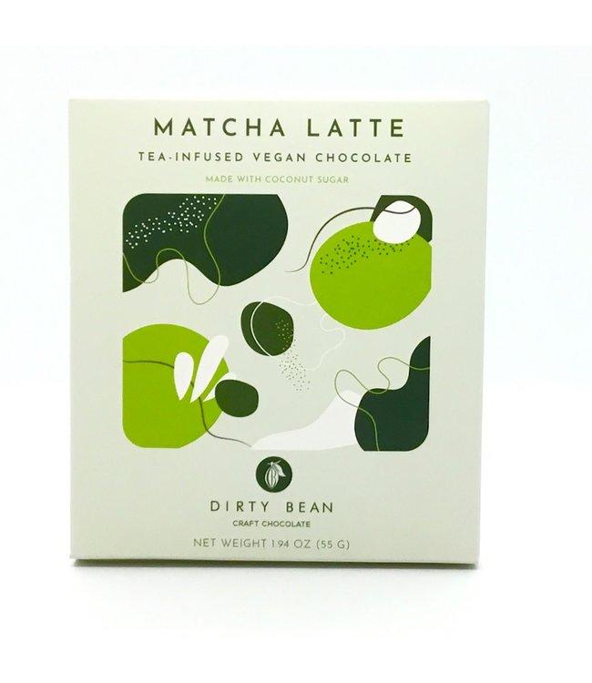 "Dirty Bean Chocolate ""Matche Latte"" 1.91oz Vegan"