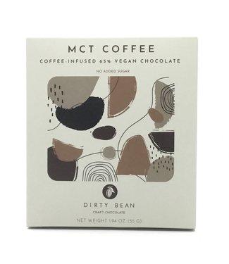 "Dirty Bean Chocolate ""MCT Coffee"" 1.91oz Vegan Dirty Bean Chocolate ""MCT Coffee"" 1.91oz Vegan"