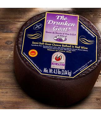 Montesinos Drunken Goat Red Wine Cheese 6 oz Spain Montesinos Drunken Goat Red Wine Cheese 6oz Spain