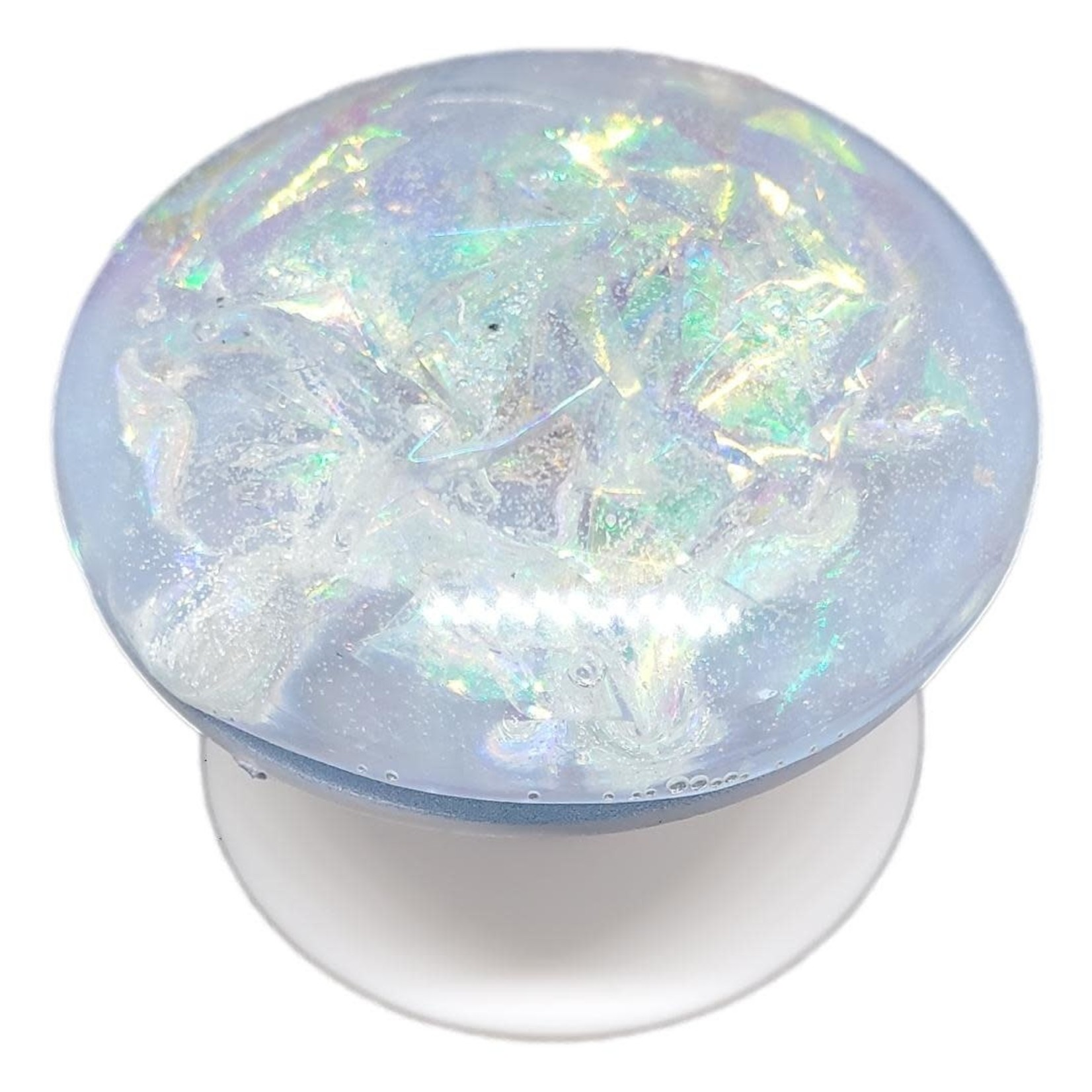 East Coast Sirens Reflective Round Domed Phone Pop