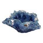 """East Coast Sirens """"Blue Flourish"""" Resin Vase/Bowl"""