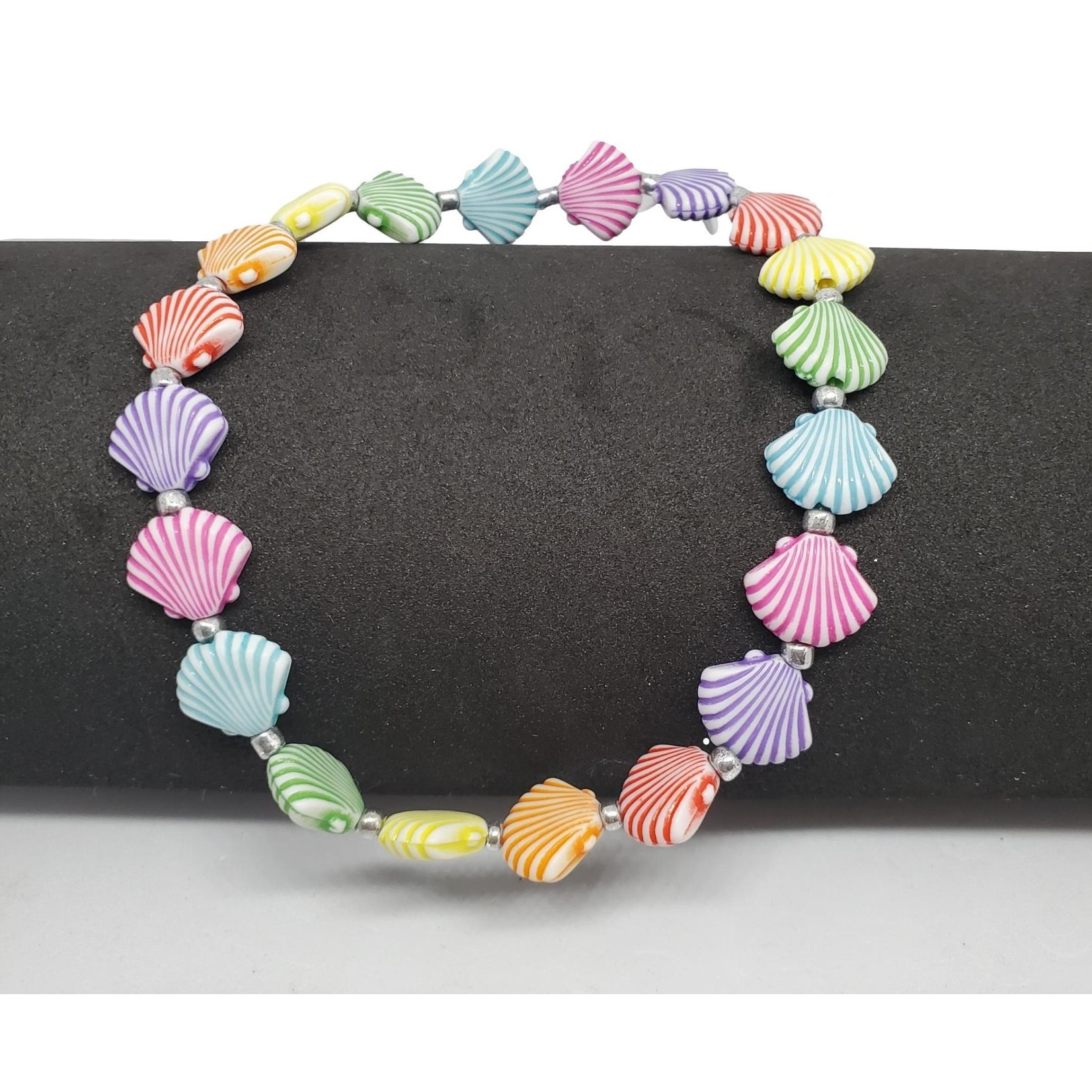 Jewellery by Deborah Young-Groves Coloured Shells Ankle Bracelet