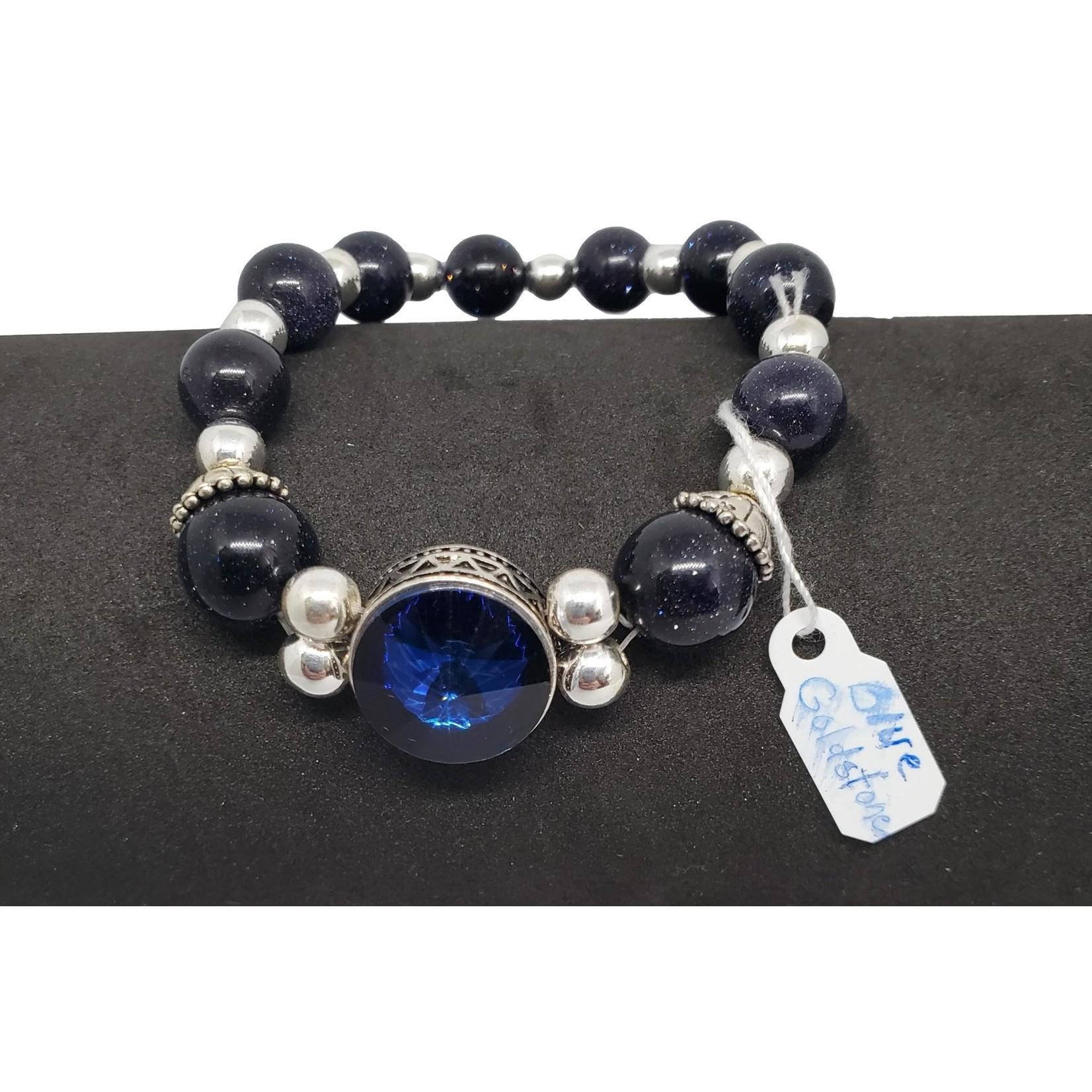 Jewellery by Deborah Young-Groves Blue Goldstone Bracelet