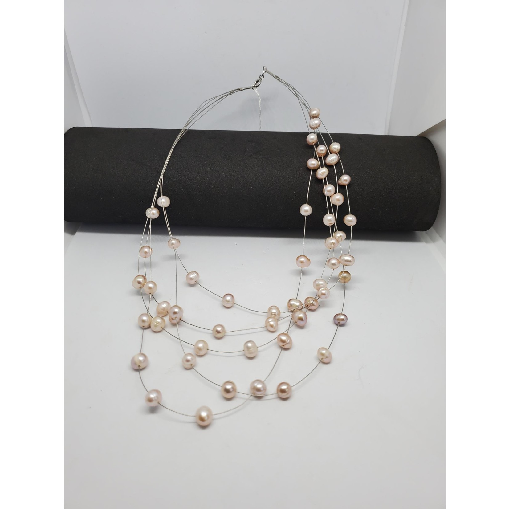 Jewellery by Deborah Young-Groves Floating Pearl Bead Necklace