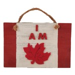 """Off The Wall Gallery Hand-painted """"I Am Canadian"""" Sign"""