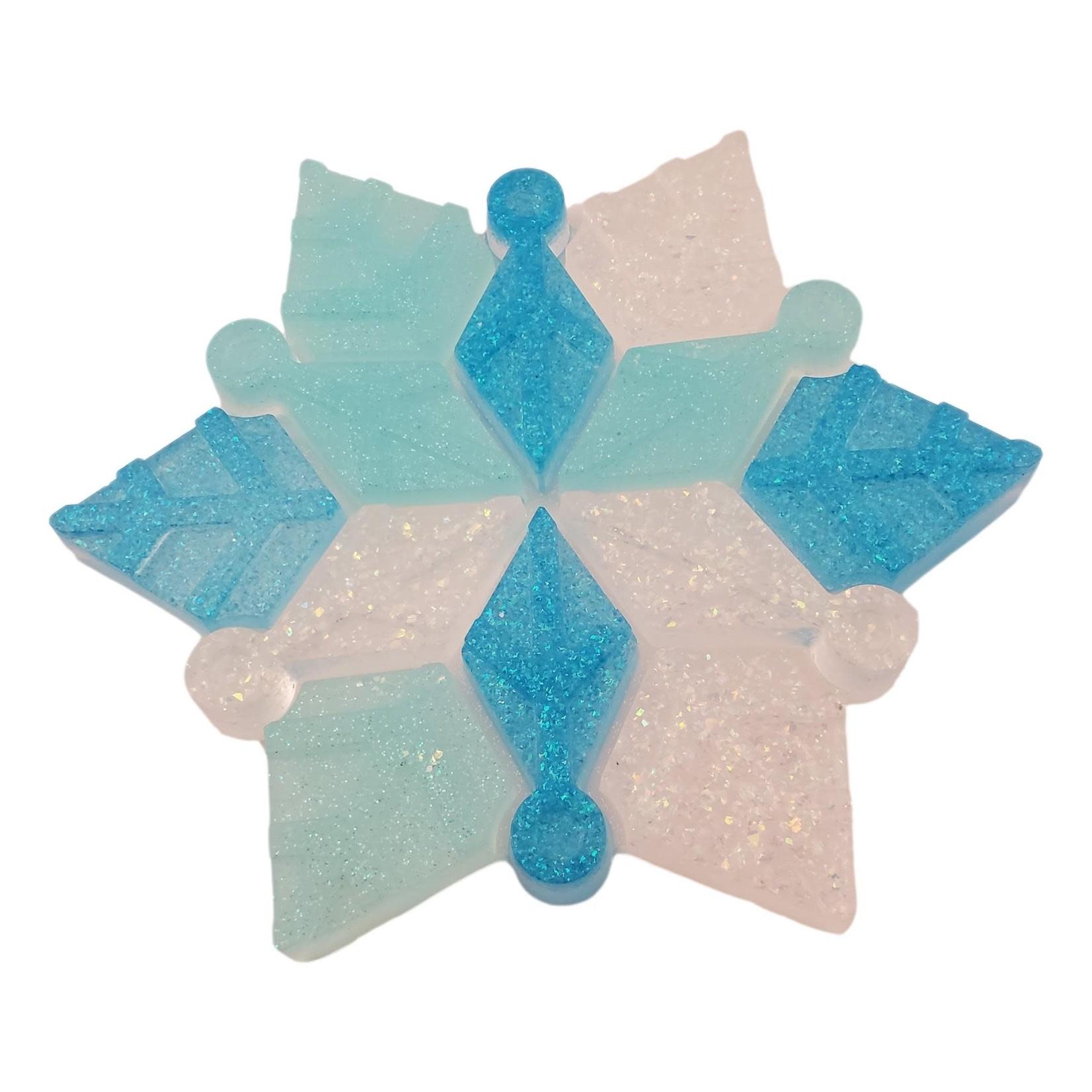 East Coast Sirens Hanging Snowflake Ornament
