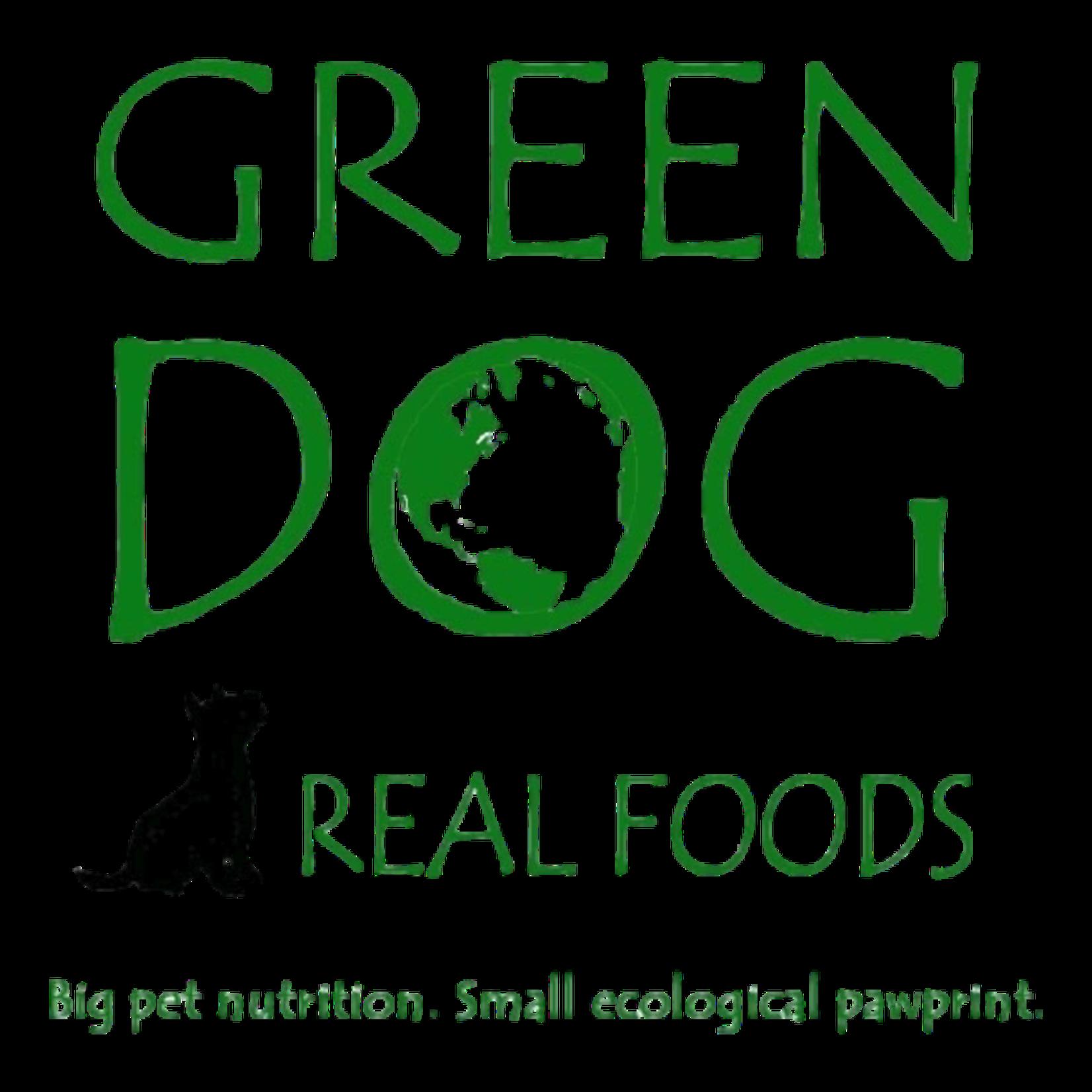 Green Dog Real Foods Pork & Pork Blends Raw Dog Food