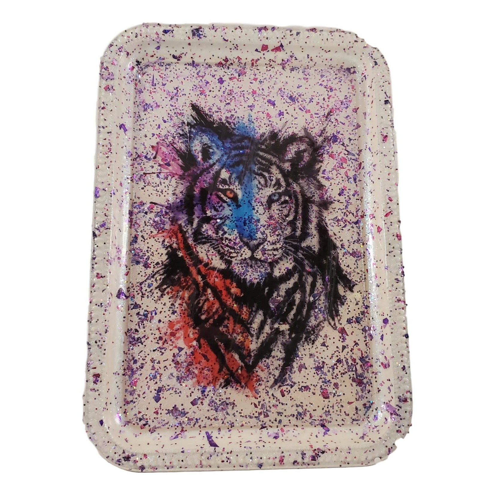 East Coast Sirens Colourful Tiger Rolling / Trinket Tray