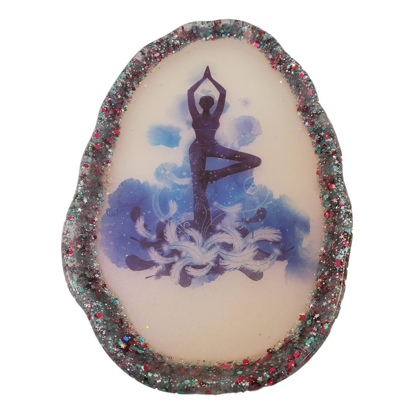 East Coast Sirens Fun & Funky Yoga Pose Rolling / Trinket Tray