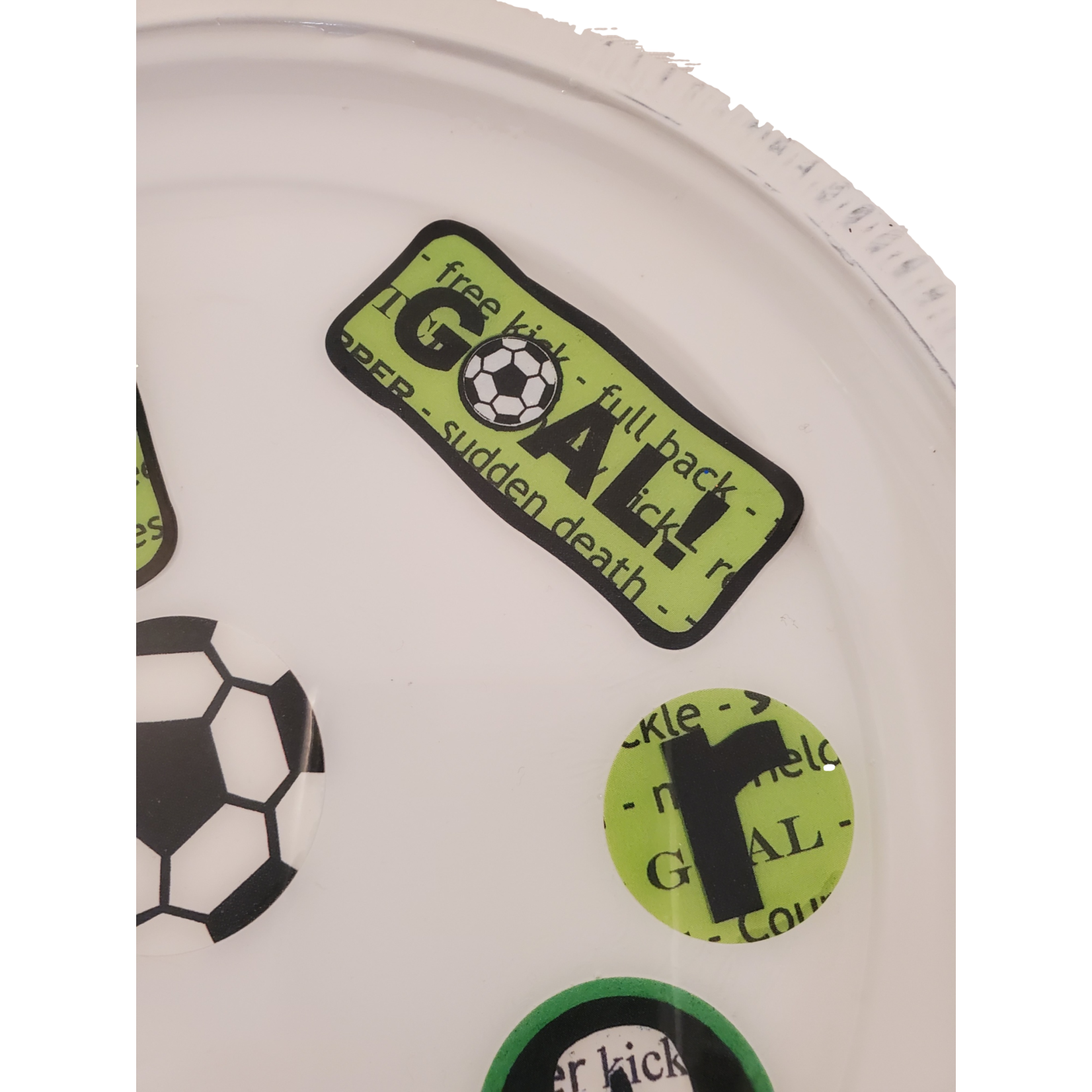 East Coast Sirens Round Soccer Trinket / Rolling Tray