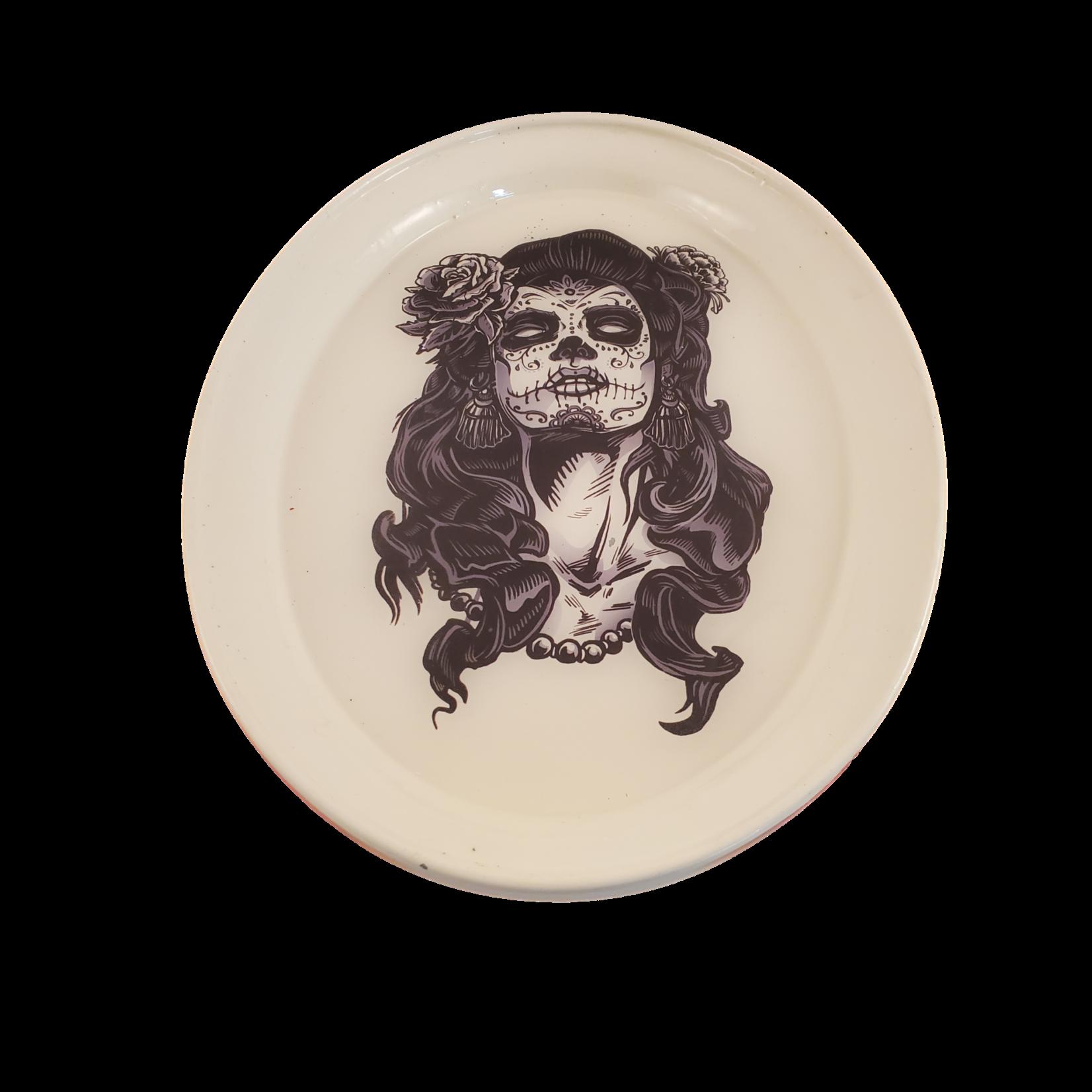 East Coast Sirens Female Candy Skull Trinket / Rolling Tray