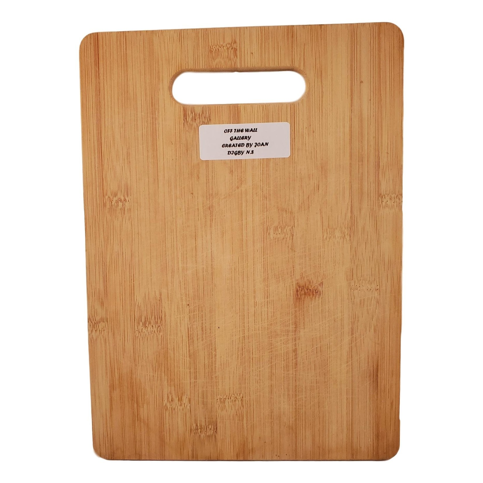 Off The Wall Gallery Hand-painted Cutting Board / Serving Tray