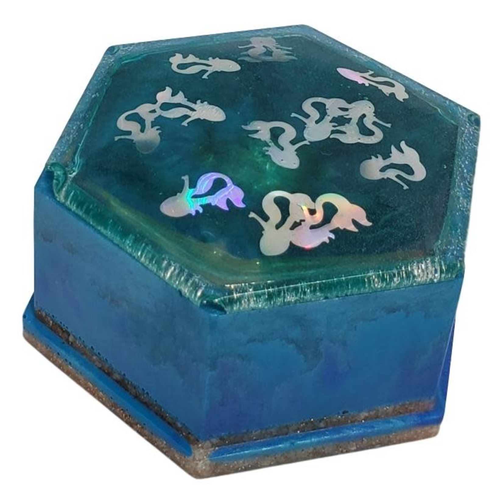 East Coast Sirens Mermaid Hexagon Trinket Dish