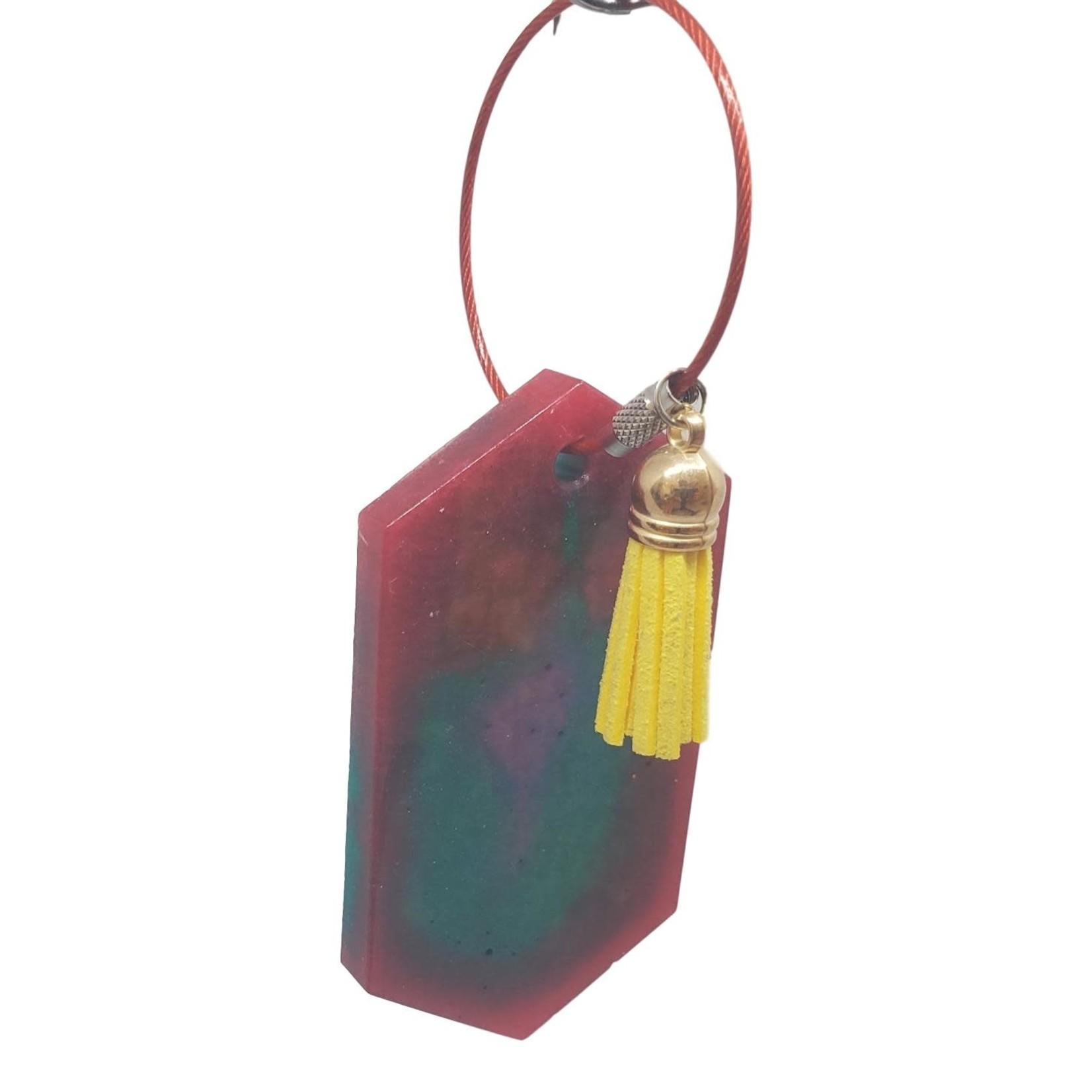 East Coast Sirens Tie-Dye Key Chain/Luggage Tag