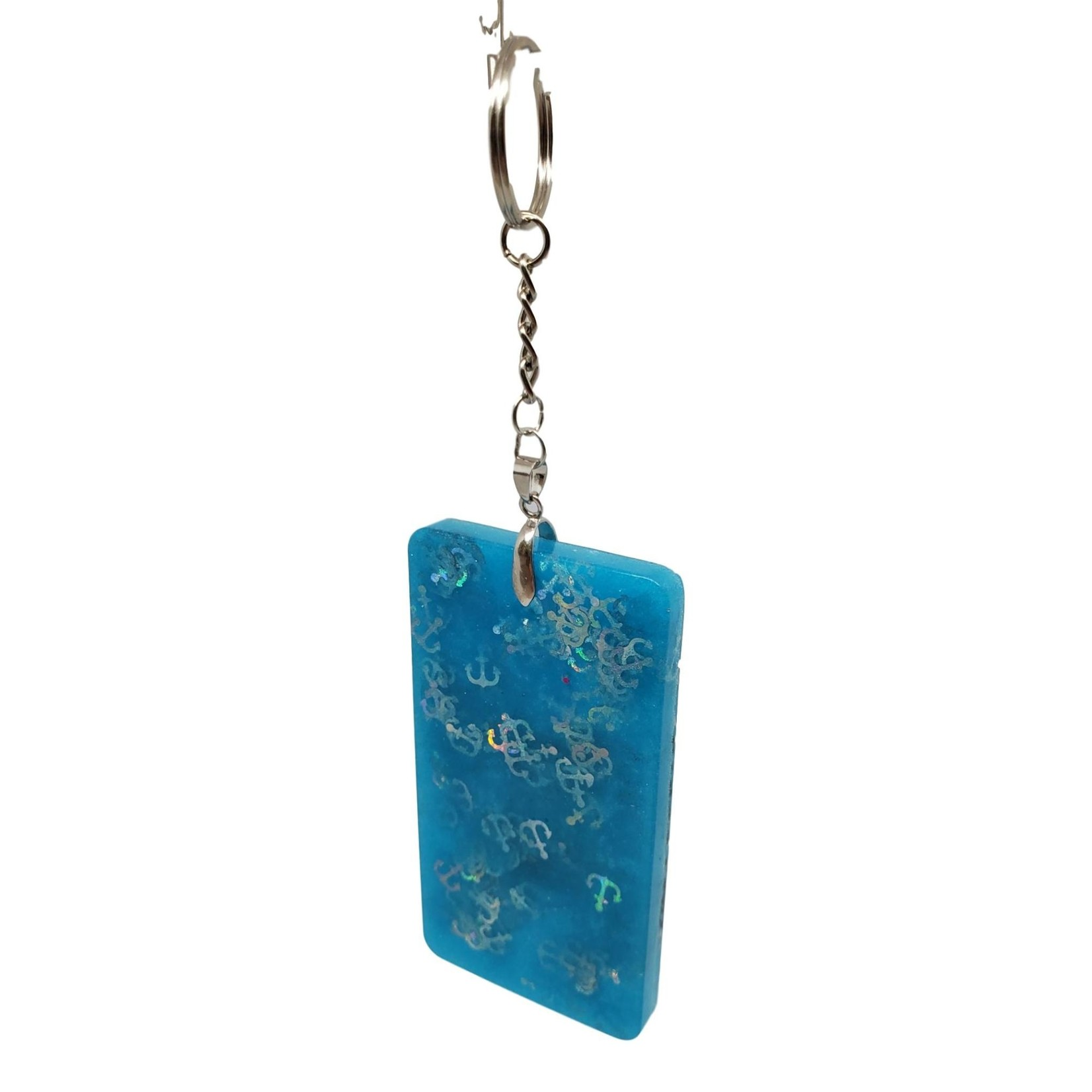 """East Coast Sirens """"Life's Tough Just Roll With It"""" Key Chain/Luggage Tag"""
