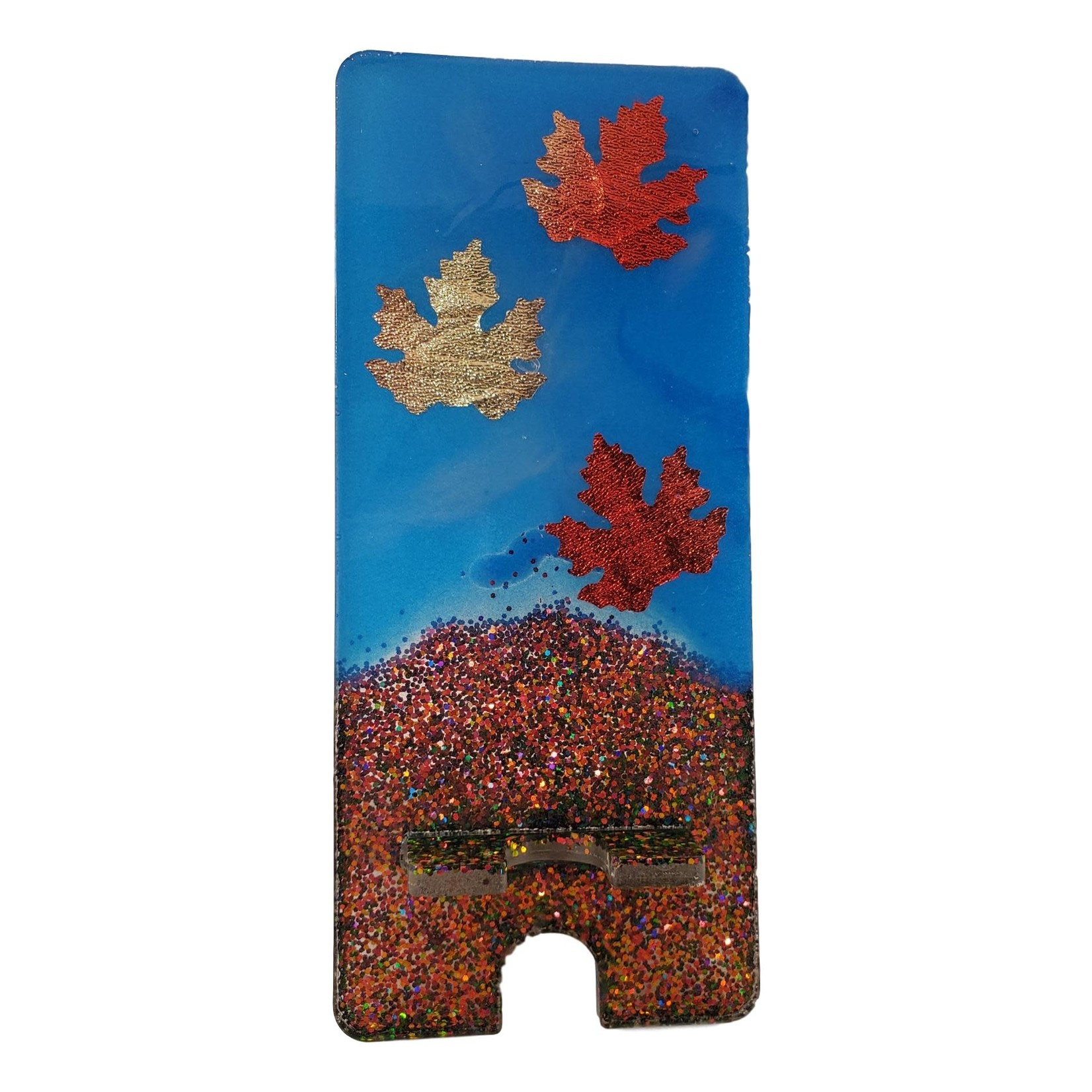 East Coast Sirens Fall Theme Cell Phone Stand