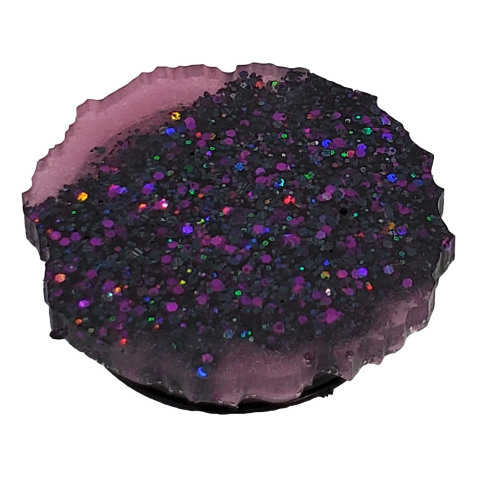 East Coast Sirens Gorgeous Purple Glitter with Pink Phone Pop-Up