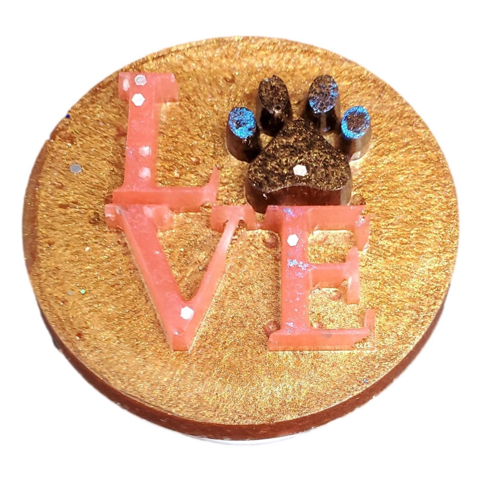 East Coast Sirens Golden Brown Puppy Love Phone Pop-up