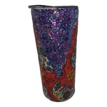 East Coast Sirens Candy Skull 15oz Stainless Steel Tumbler