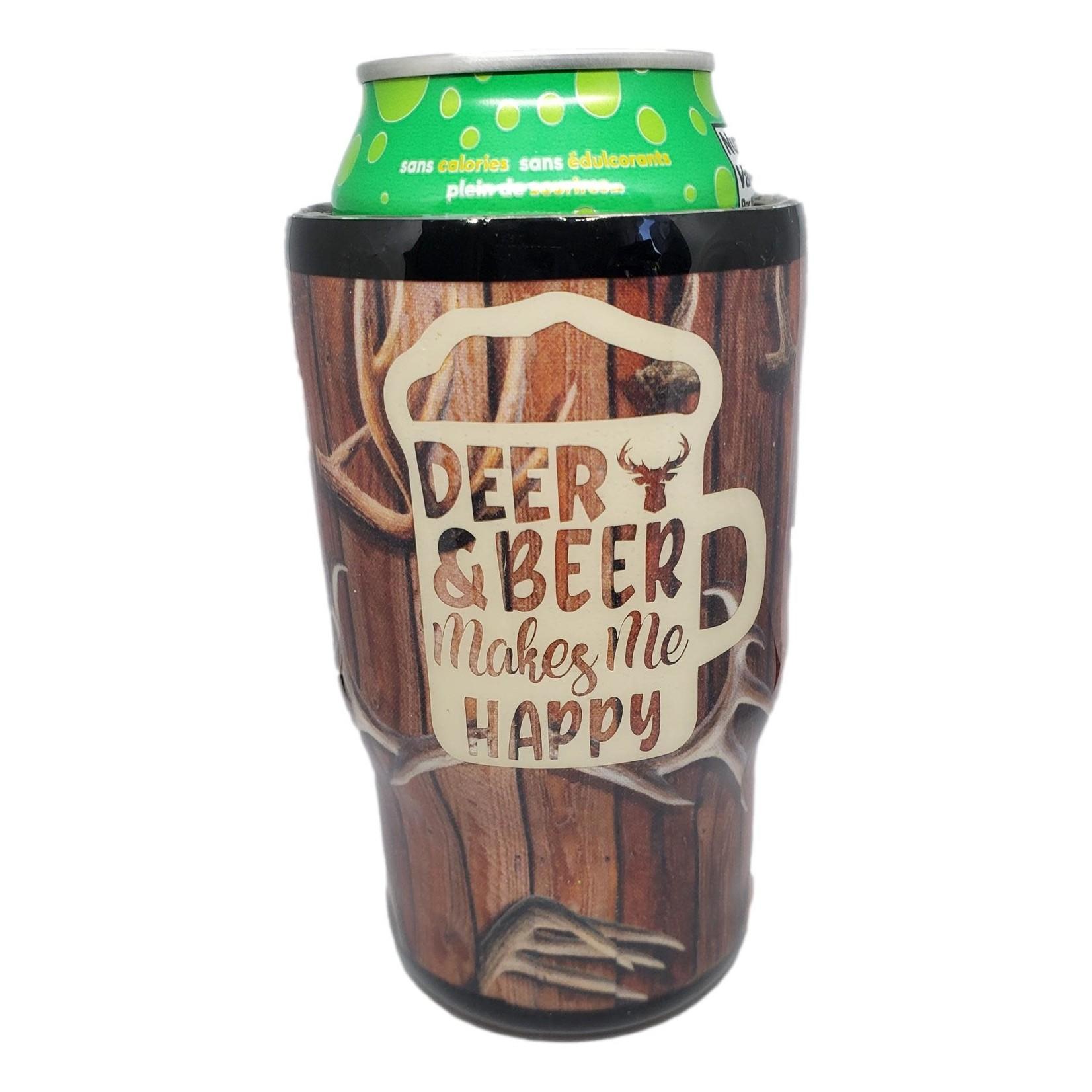 East Coast Sirens Deer & Beer Can Cooler - 14oz