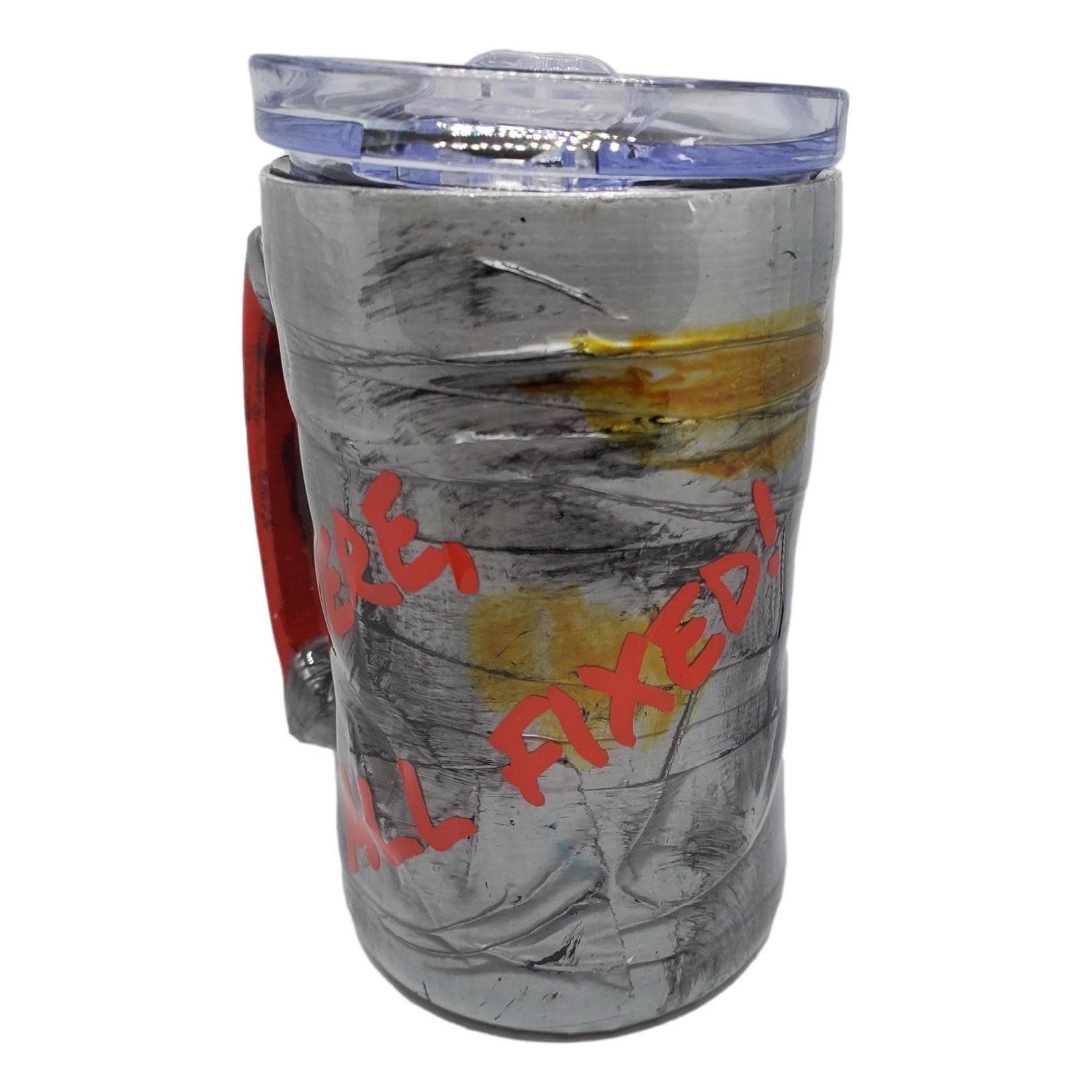 East Coast Sirens Duct Tape Beer Stein