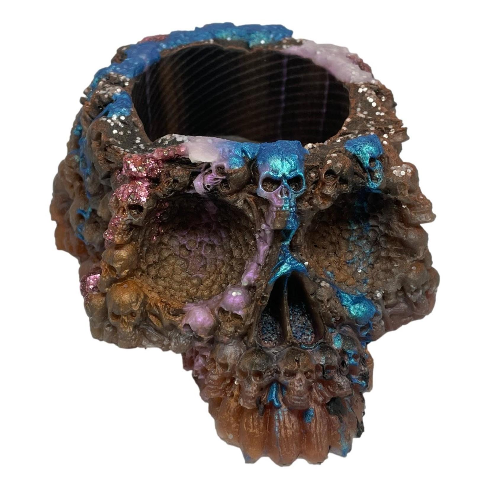 East Coast Sirens Coloured Skull Planter