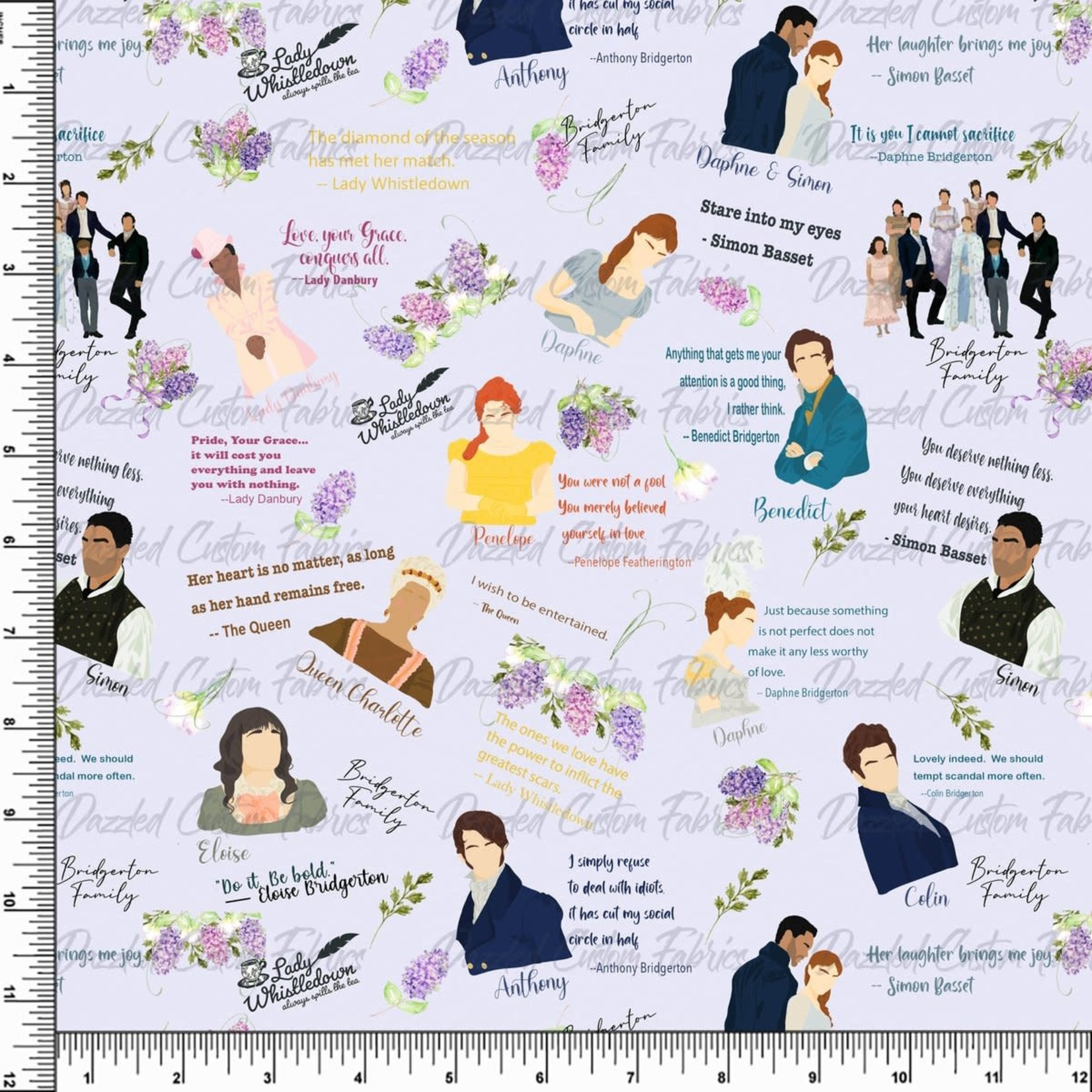 Fabric Options - TV Inspired